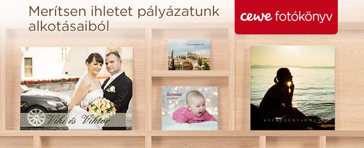 CEWE FOTÓKÖNYV minták - cewe.hu