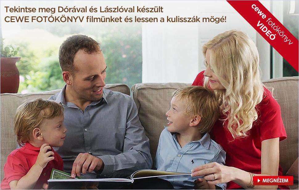A Sasvári család története CEWE FOTÓKÖNYVBEN