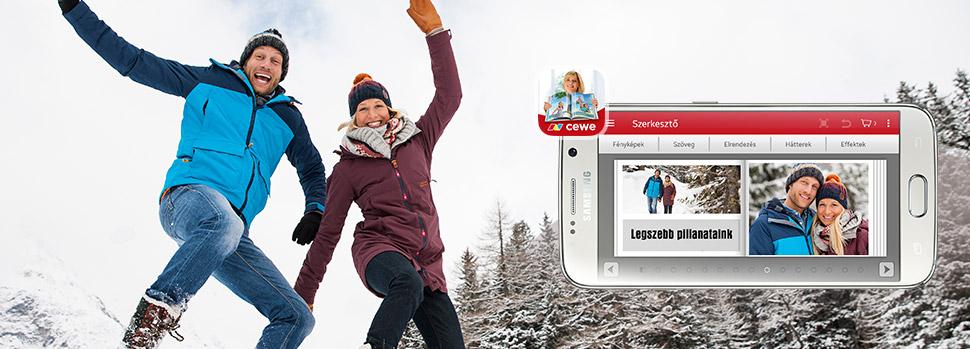 CEWE Fotóvilág mobil alkalmazás