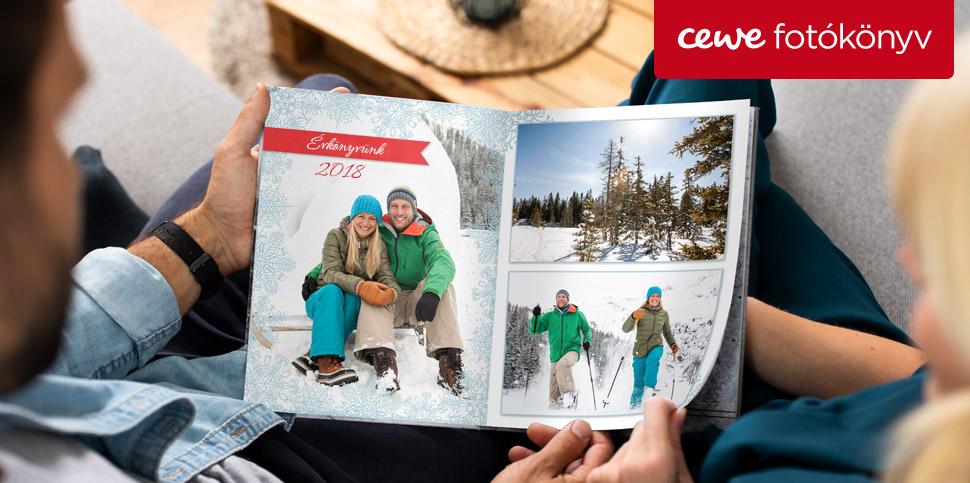 Készítsen évkönyvet - 2018 legszebb fotói CEWE FOTÓKÖNYVBEN