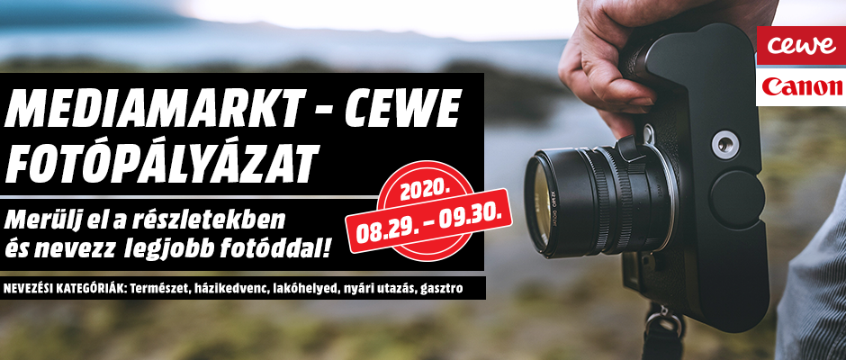 Mediamarkt-CEWE Fotópályázat