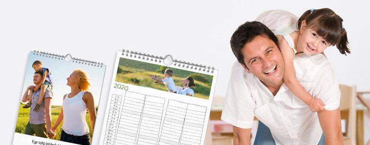 A3 családi határidőnaptár