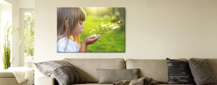 Fénykép vászon nyomtatás, Vászonkép készítés saját fotóból - Cewe