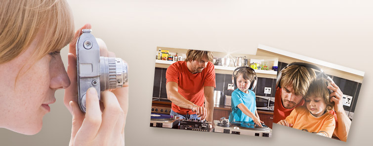 Digitális fotói fotópapíron