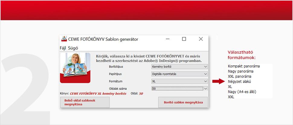 Sablon generátor