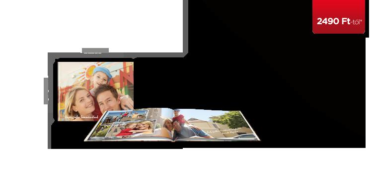 CEWE FOTÓKÖNYV Kompakt panoráma kemény borító