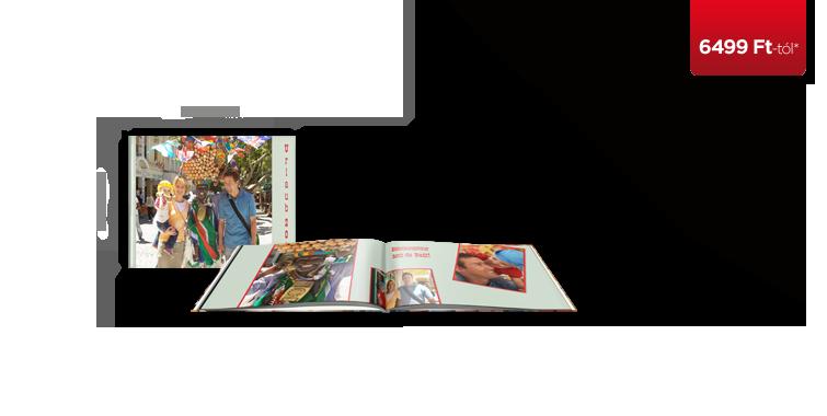 CEWE FOTÓKÖNYV Kompakt panoráma digitális nyomtatás