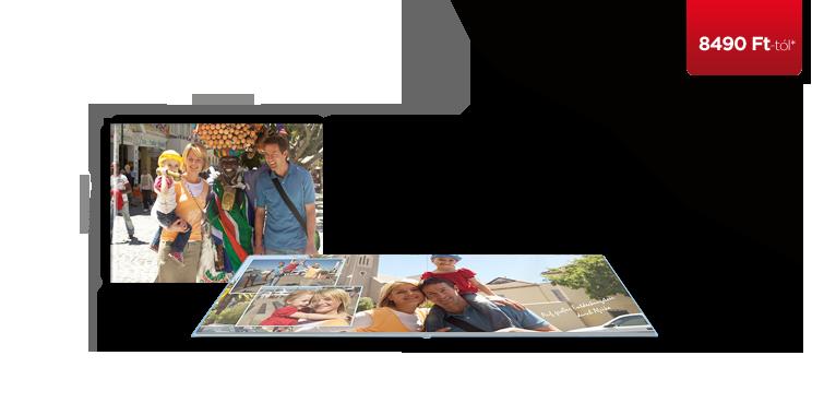 CEWE FOTÓKÖNYV Nagy panoráma matt fotópapír