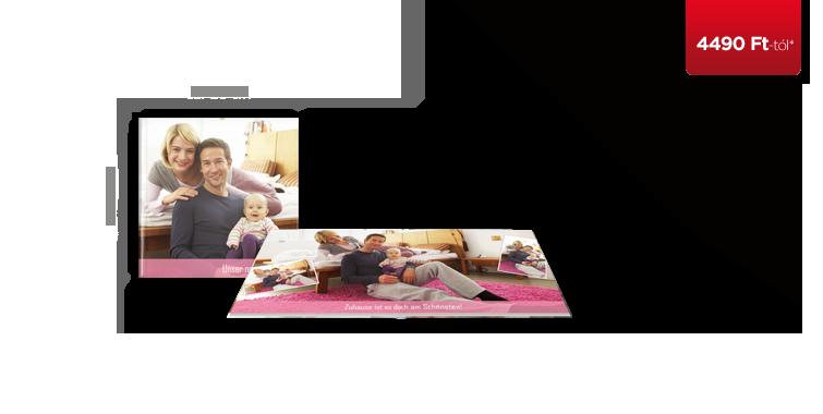 Négyzet alakú CEWE FOTÓKÖNYV matt fotópapír