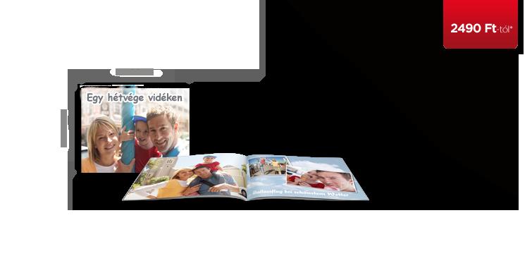 CEWE FOTÓKÖNYV Kompakt panoráma puha borítós