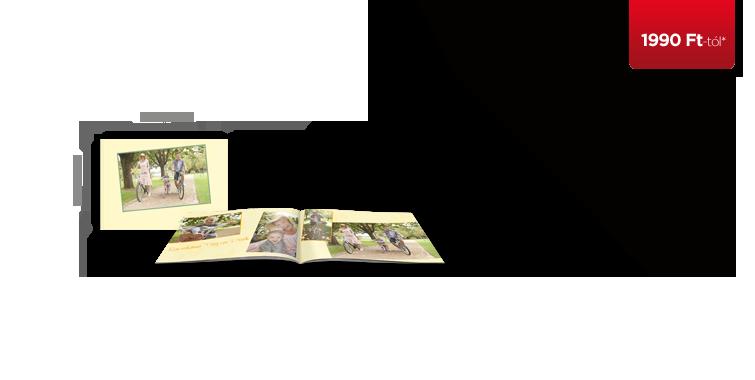 CEWE FOTÓKÖNYV Mini digitális nyomtatású