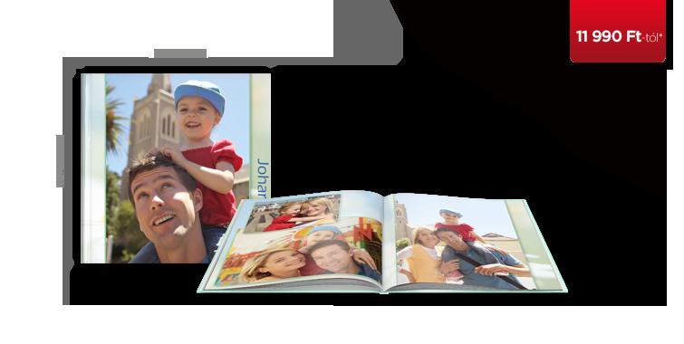 CEWE FOTÓKÖNYV XL Kemény borító
