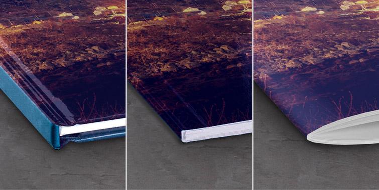 CEWE Fotókönyv borítótípusok