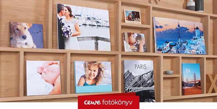 CEWE Fotókönyv Méretválaszték