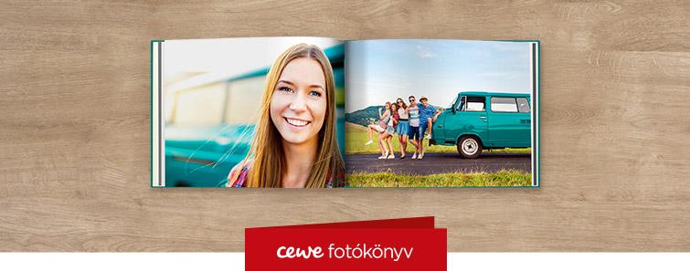 Extra matt Nagy panoráma CEWE FOTÓKÖNYV nyomtatás - Cewe