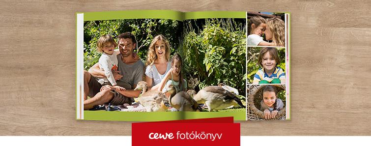 Extra matt XL CEWE FOTÓKÖNYV nyomtatás - Cewe