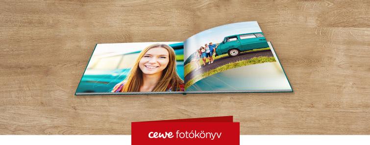 Fényes fotópapíros nagy panoráma CEWE FOTÓKÖNYV készítés – Cewe
