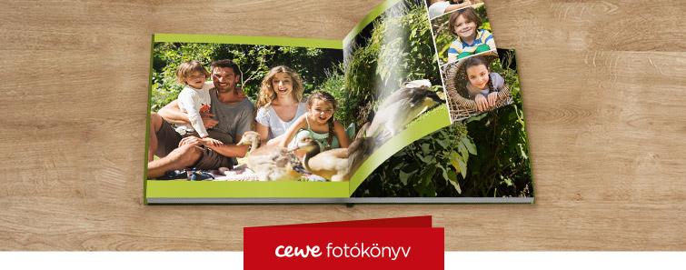 Fényes fotópapíros XL CEWE FOTÓKÖNYV készítés – Cewe