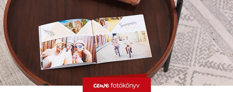 Kis fotókönyv, fotófüzet készítés - Cewe