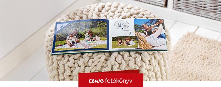 A5 CEWE FOTÓKÖNYV készítés - Cewe