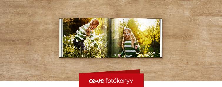 Magasfényű kompakt CEWE FOTÓKÖNYV nyomtatás – Cewe