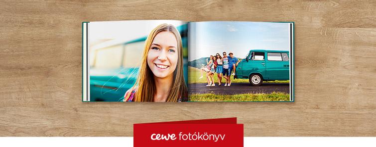 Magasfényű panoráma A4 CEWE FOTÓKÖNYV nyomtatás – Cewe