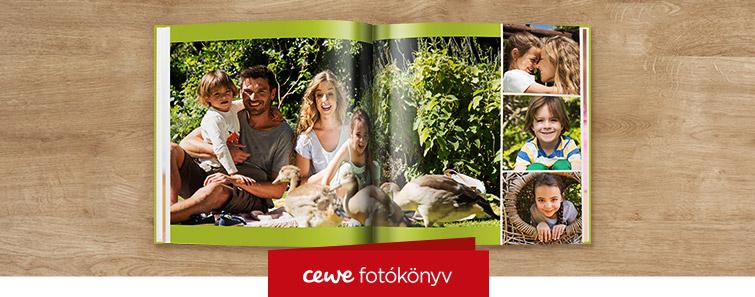 Magasfényű XL CEWE FOTÓKÖNYV nyomtatás – Cewe