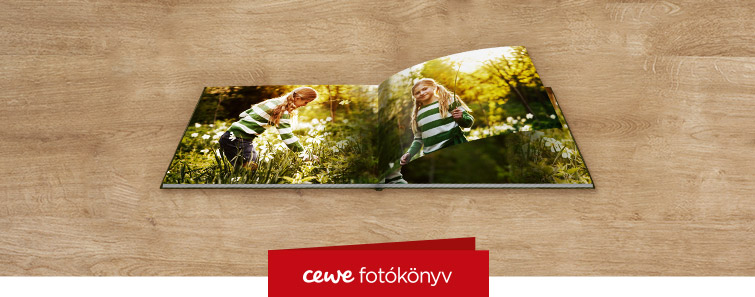 CEWE FOTÓKÖNYV fotópapíron