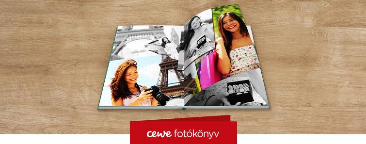 Matt fotópapíros nagy CEWE FOTÓKÖNYV készítés – Cewe