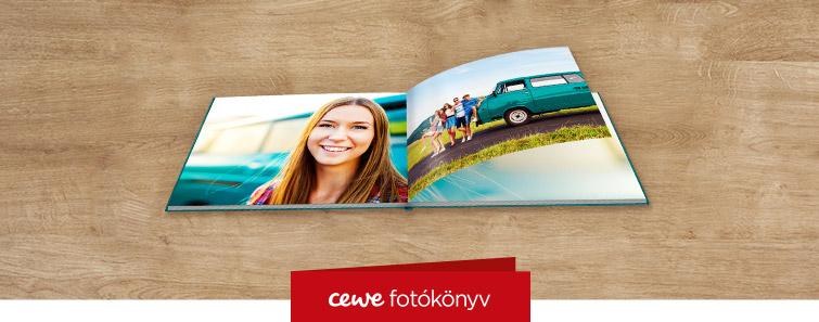 Matt fotópapíros nagy panoráma CEWE FOTÓKÖNYV készítés – Cewe