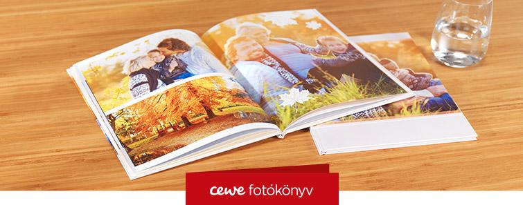 Nagy CEWE FOTÓKÖNYV készítés – Cewe