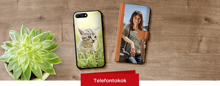 Okostelefon és Tablet egyedi fényképes tokok
