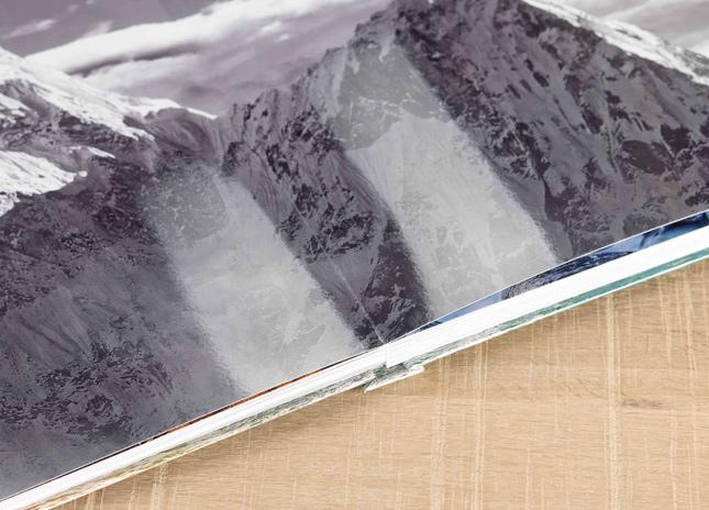 Fényes fotópapíros kompakt fotókönyv