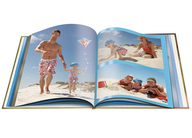 Extra matt borítós nagy fotókönyv