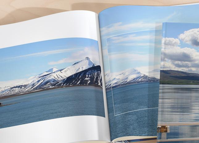 Extra matt könyv - 40x32 cm fekvő méret