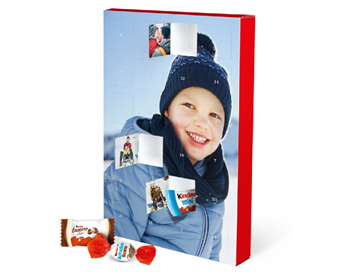 Fotós adventi naptár kinder® csokoládéval