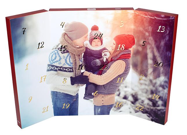 Csokis adventi naptár - Deluxe