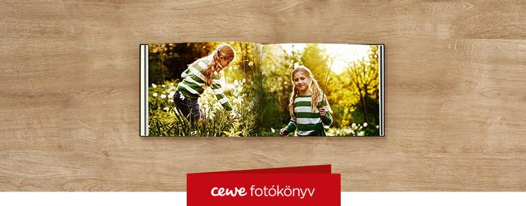 Extra matt kompakt panoráma CEWE FOTÓKÖNYV