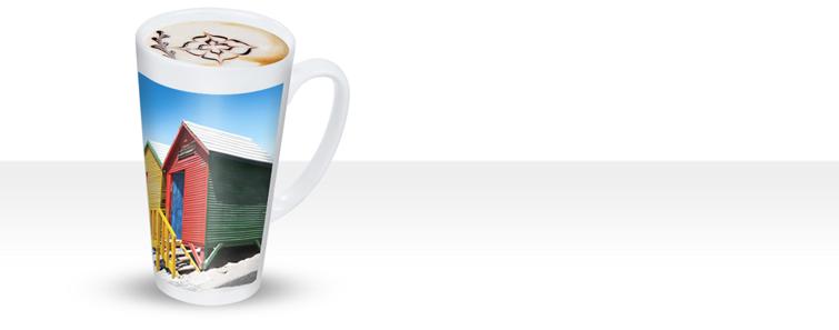 Fényképes latte kávés pohár készítés - Cewe