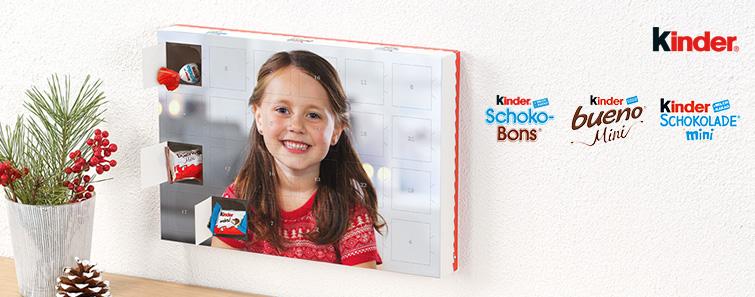 Kinder® csokoládés adventi naptár