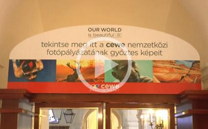 CEWE Kiállítás - Európa legszebb fotói a Gödöllői Királyi Kastélyban