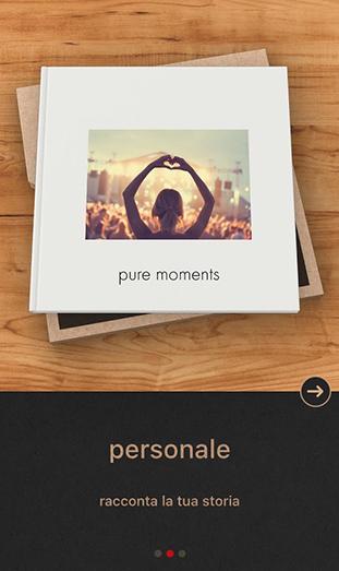 La App FOTOLIBRO CEWE Pure - personale
