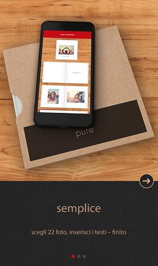 La App FOTOLIBRO CEWE Pure - semplice