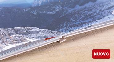 NUOVO TIPO DI CARTA: stampa digitale satinata premium LayFlat