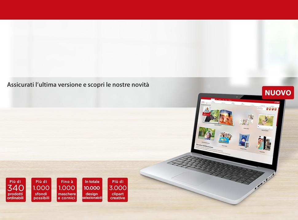 Scopri il nostro nuovo software 6.3