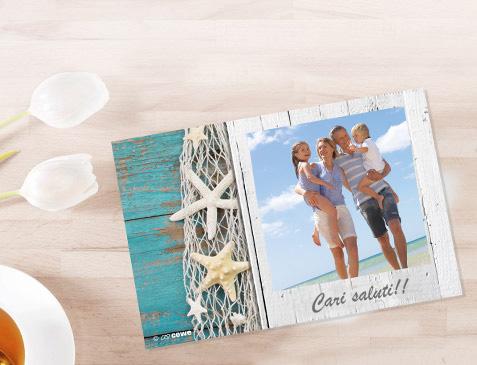 Cartoline con stampa immediata