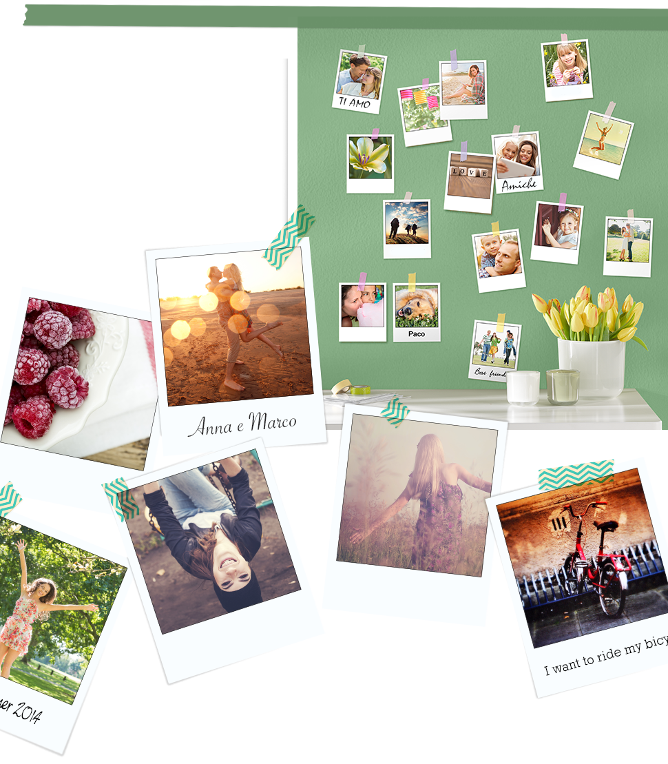 Stampe in stile Polaroid