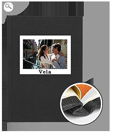 Rilegatura: copertina in tela nera
