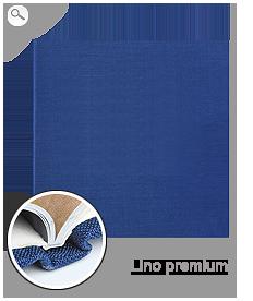 Rilegatura: copertina in tela blu