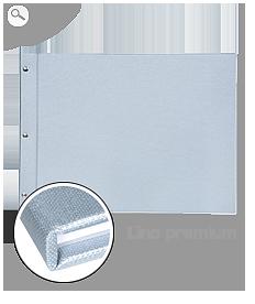 Rilegatura: copertina in tela argento
